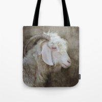 The beautiful goat Tote Bag