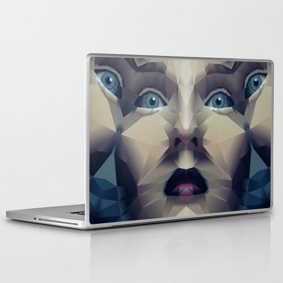 Facet_CD2 Laptop & iPad Skin