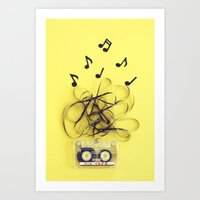 Mix Tape (ANALOG ZINE) Art Print
