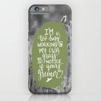 Green Grass iPhone 6 Slim Case