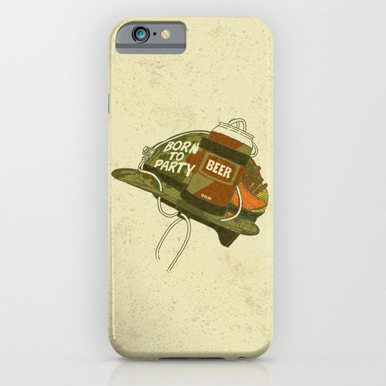 Born to party iPhone & iPod Case