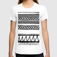 zebra T-shirts featuring MALOU ZEBRA by Aztec