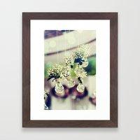 Flower photo Framed Art Print