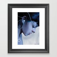 Listen Yourself Framed Art Print