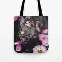 Black/Pink Tote Bag