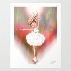 Lost In The Dance Art Print