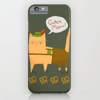 iPhone & iPod Case featuring Oktoberfest Kitty by Penguin & Fish