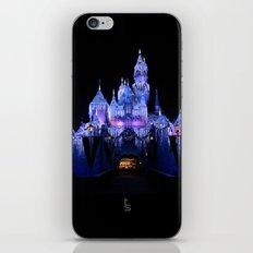 Sleeping Beauty's Winter Castle iPhone & iPod Skin