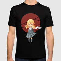 Tokyo Girl Mens Fitted Tee Black SMALL