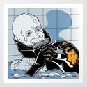 Star Wars Pop Art - Vader Wash Art Print