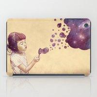 Cosmic Bubbles iPad Case