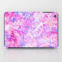 Feminine Folk Floral iPad Case
