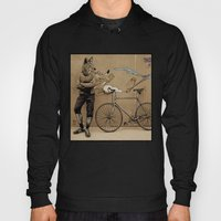 Coyote bicyclist Hoody