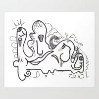 Crazzy III Art Print