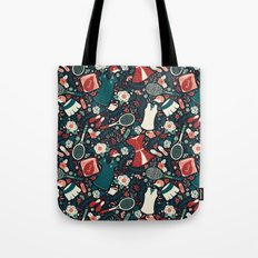 Tennis Style Tote Bag