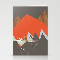 Party In The Mountains//Seven Stationery Cards