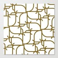 A Geometric Pattern Canvas Print