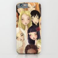 iPhone & iPod Case featuring Girlie pattern by Renia
