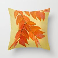 Fall Mood Throw Pillow