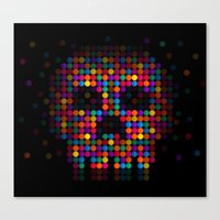 A Colorful Death By Qixe… Canvas Print