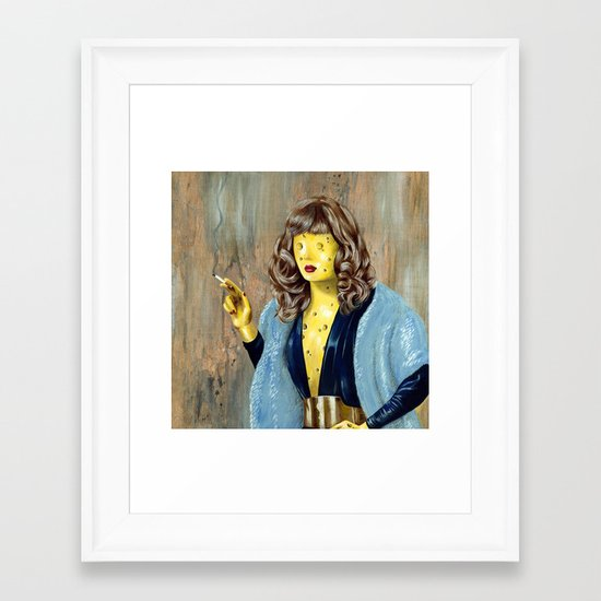 Cheese Framed Art Print