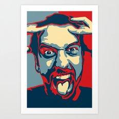 Tom Green Art Print