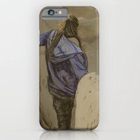 iPhone & iPod Case featuring Hiking in the Desert by Karen Herman Jacquez