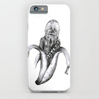 iPhone & iPod Case featuring Chewbacca banana by ronnie mcneil