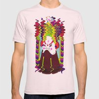 Don't Fuck With The Samu… Mens Fitted Tee Light Pink SMALL