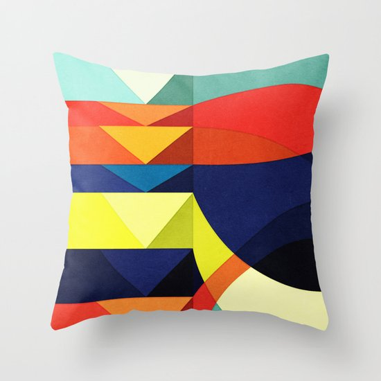 Where Do You Think You're Going? Throw Pillow