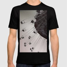 Coming Back Around Mens Fitted Tee Black SMALL