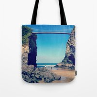Avenue To Happiness  Tote Bag