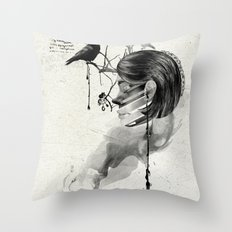 Find me into myself Throw Pillow