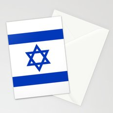 The National flag of the State of Israel Stationery Cards