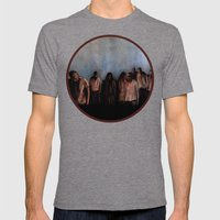 ZOMBIES V Mens Fitted Tee Tri-Grey SMALL