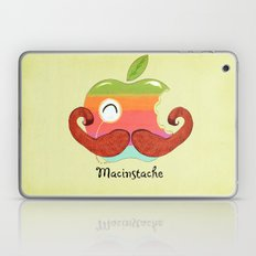 The Macinstache Laptop & iPad Skin