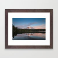 Mount Adams Framed Art Print