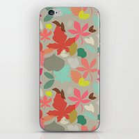 spring and fall iPhone & iPod Skin