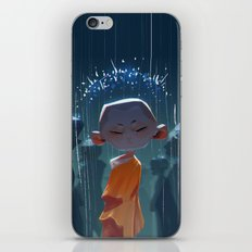Monk in modern times iPhone & iPod Skin