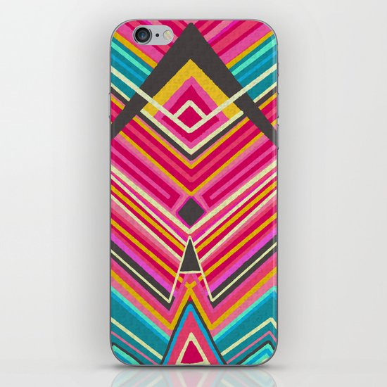 picchu pink iPhone & iPod Skin