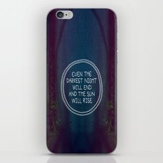 Darkest Night iPhone & iPod Skin