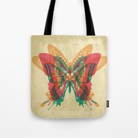 Butterfly Rorschach Tote Bag