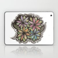 Floral Collage Laptop & iPad Skin