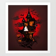 Art Print featuring Halloween by Lana