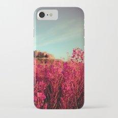Early morning, Bamburgh castle Slim Case iPhone 7