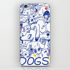 Dogs✧ iPhone & iPod Skin