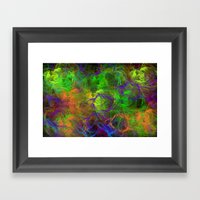 Summer Craziness 2 Framed Art Print