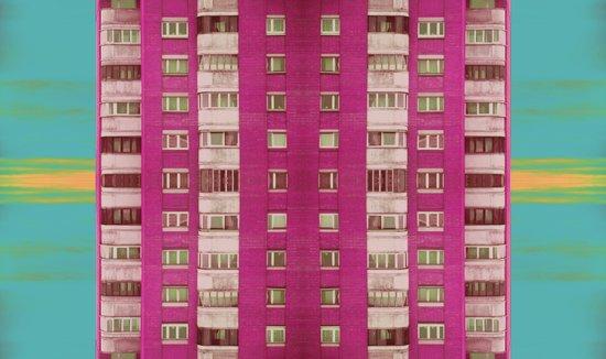 Bloody pink Art Print