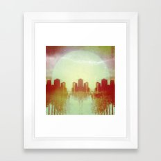 Origin & Outcome Framed Art Print
