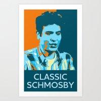 Classic Schmosby Art Print